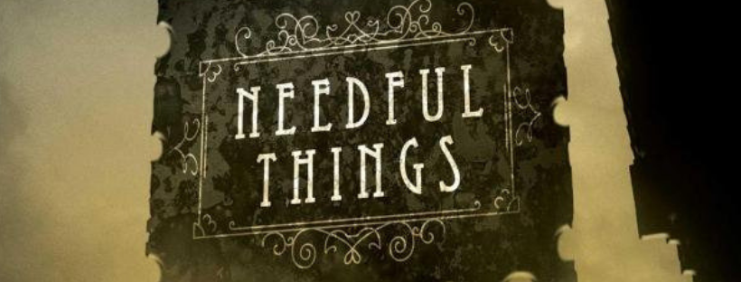 needful things by steven king book cover