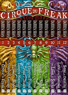 Cirque du Freak The Saga of Darren Shan collection by Darren Shan - my favourite books