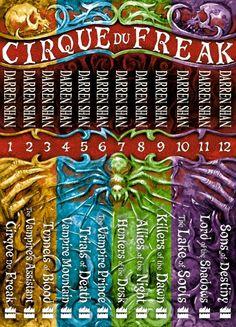 Cirque du Freak The Saga of Darren Shan collection by Darren Shan - my favourite books