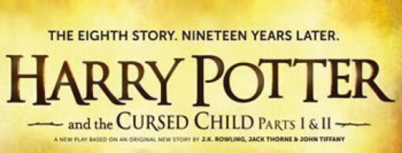 harry potter and the cursed child script cover