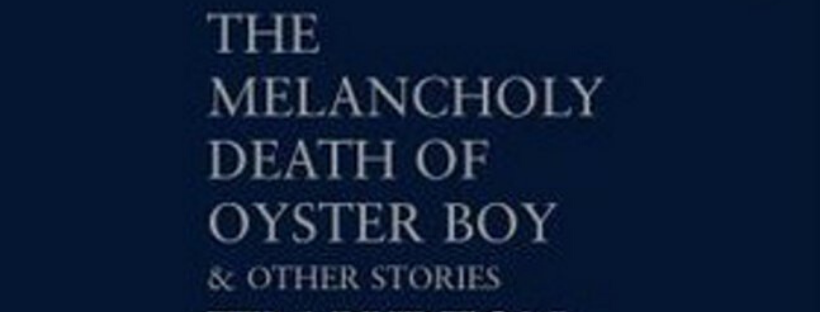 the melancholy death of oyster boy book cover by tim burton