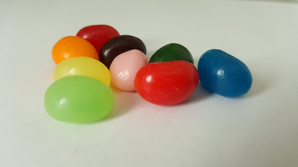 jelly beans - harry potter bucket list  try bertie bott's every flavour jelly beans