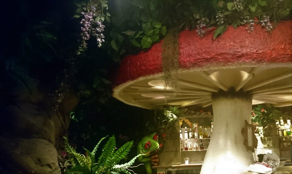 the rainforest cafe - tropical locations in London