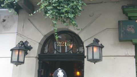 221 baker street sherlock holmes - literary spots in London