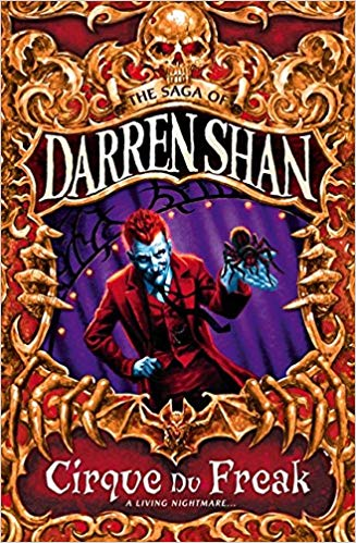 the saga of darren shan cirque du freak vampire books