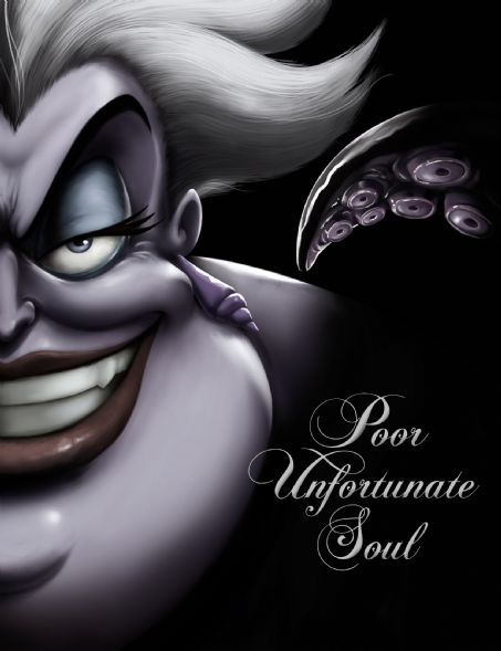 poor unfortunate soul disney villian disney books by serena valentino