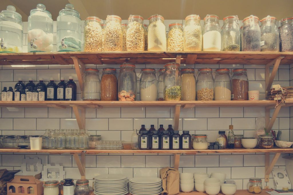zero-waste pantry - being eco-friendly at home