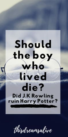 did j.k rowling ruin harry potter?