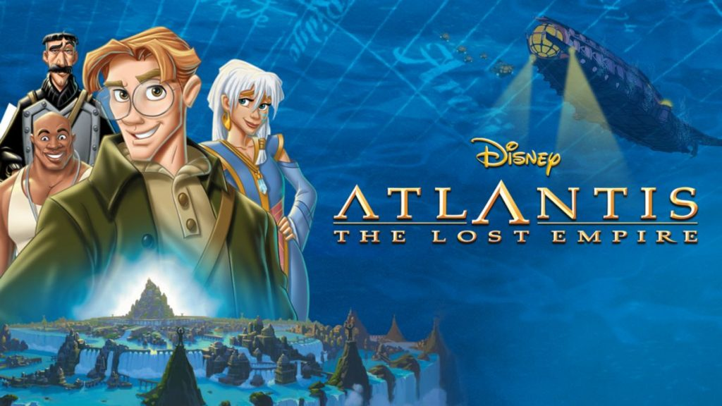 disney atlantis the lost empire - underrated disney movies on disney plus