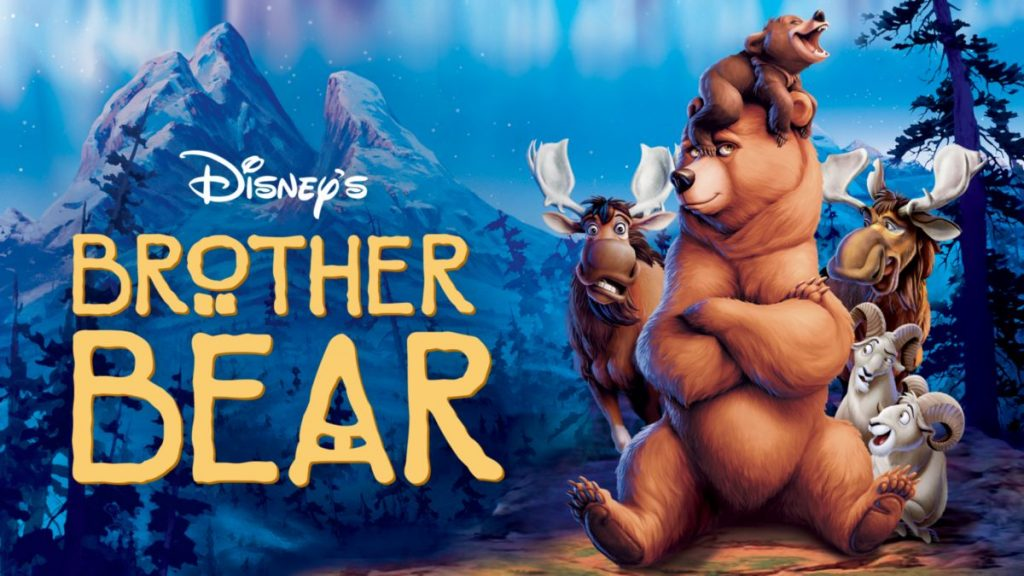 brother bear - underrated disney films on disney plus