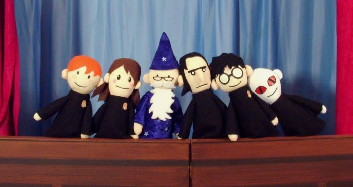 harry potter puppet pals - harry potter fan creations
