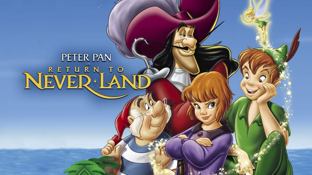 peter pan return to neverland - underrated disney movies list