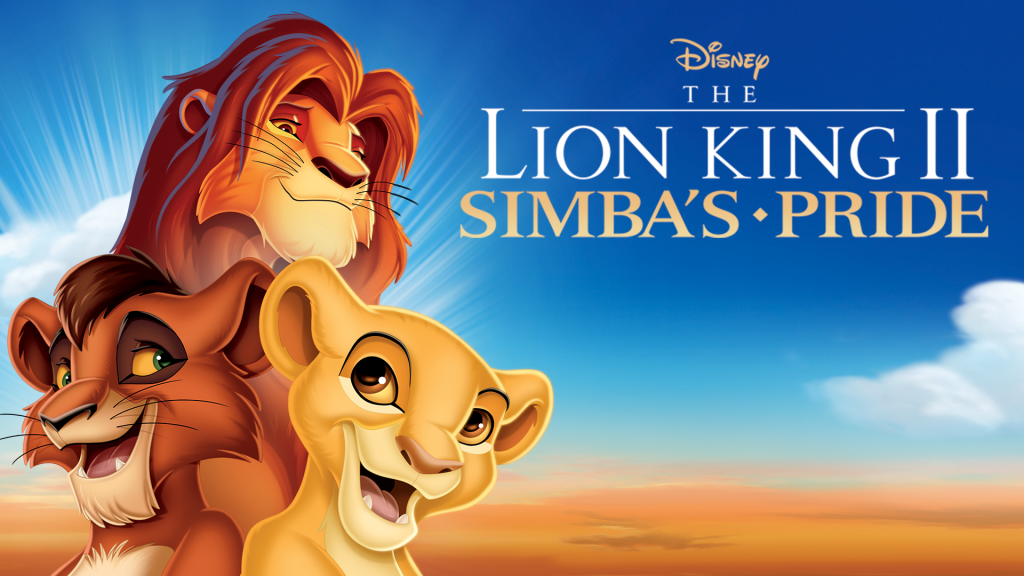 lion king 2 - disney sequels that are actually good