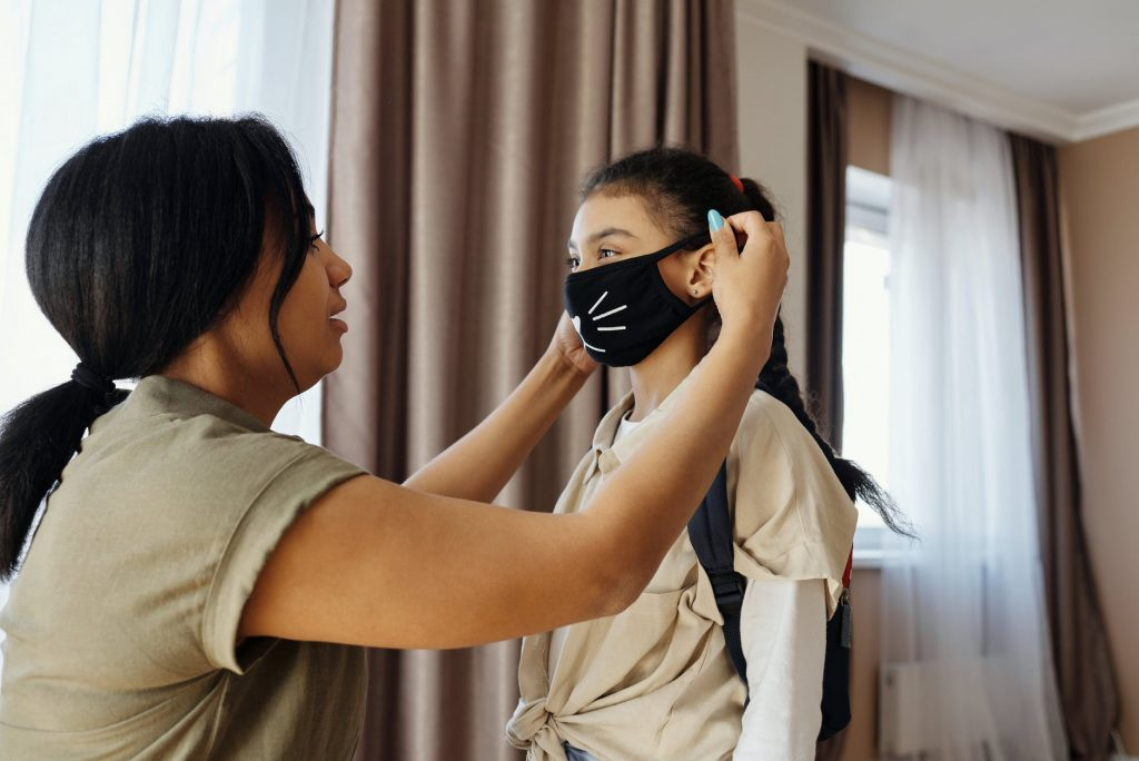 reusable face masks - being green during covid-19
