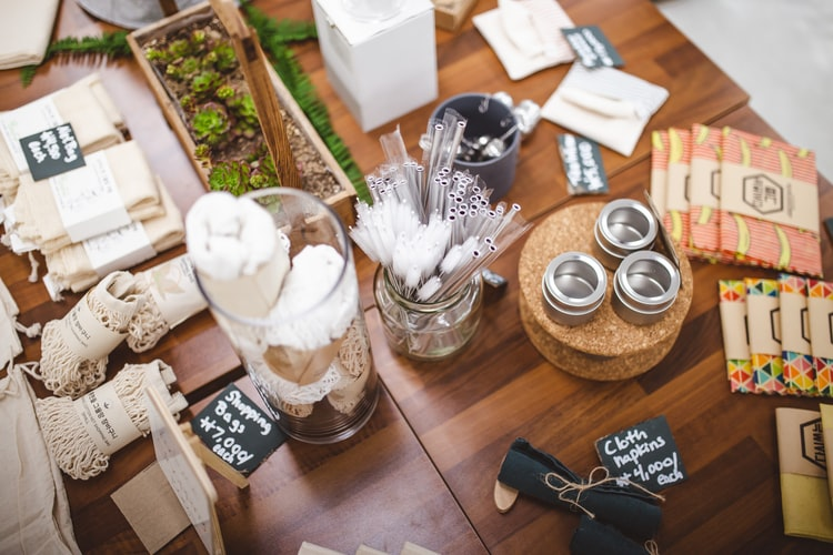 zero-waste items - being green during the pandemic