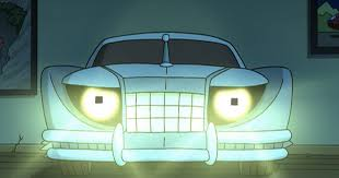 Futerama ; the honkening. bender is a werecar.
