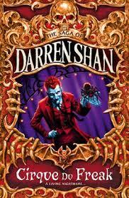 the saga of darren shane cirque du freak cover - ya halloween books
