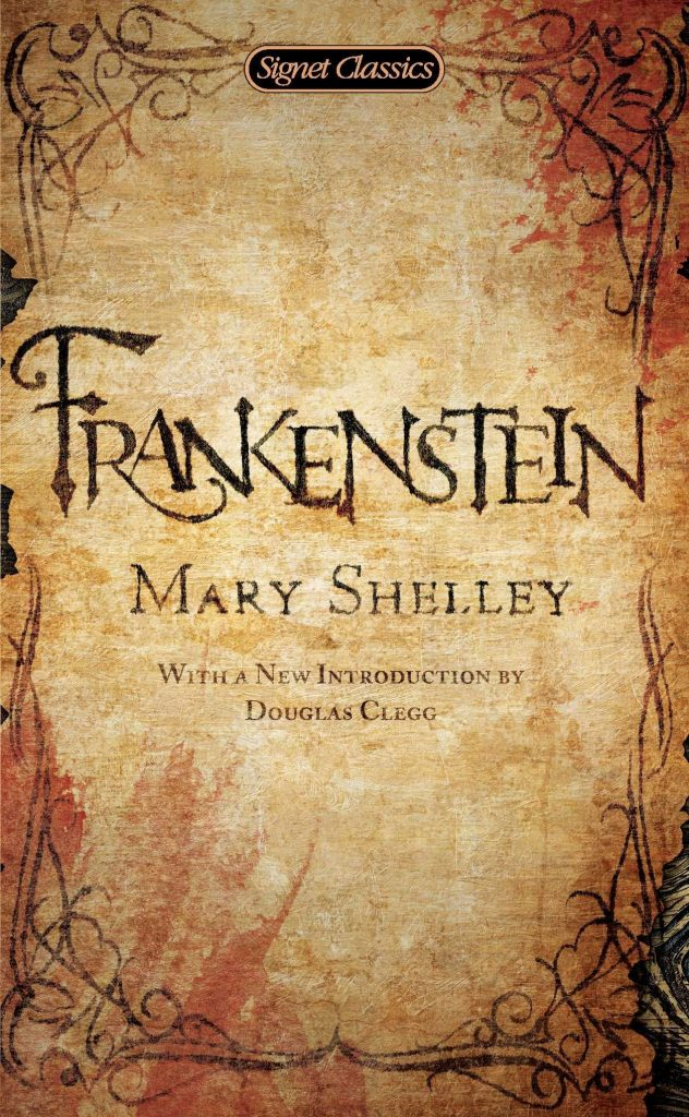 frankenstein - the best halloween books list - classic halloween books