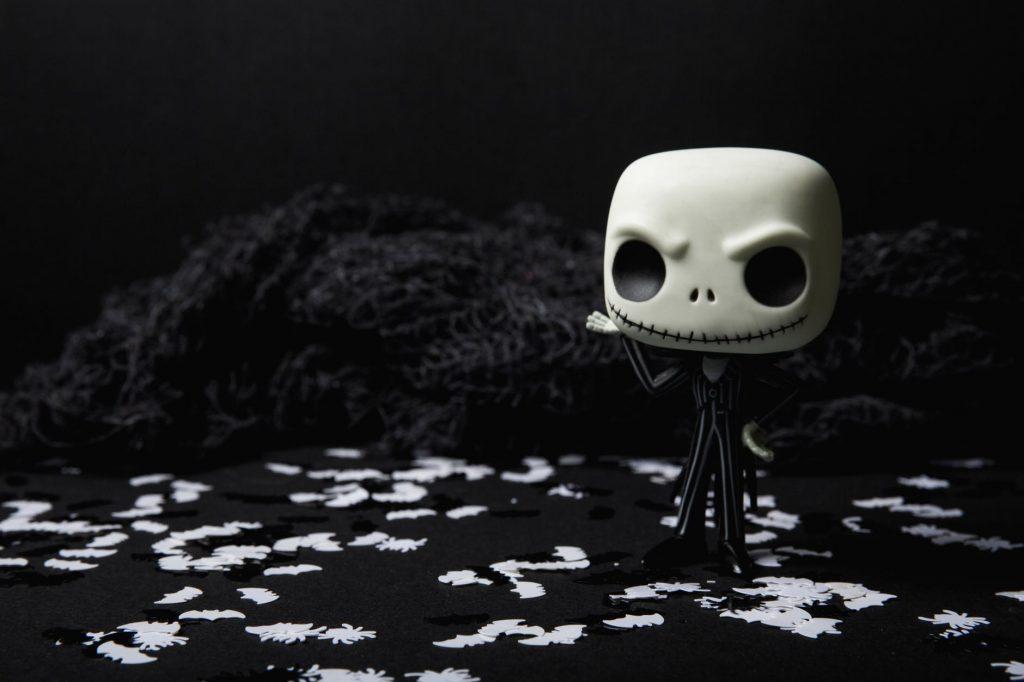 Jack Skellington figure - Tim Burton Halloween movies list