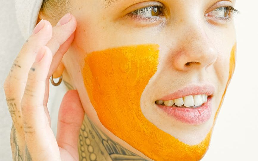 pumpkin facemask