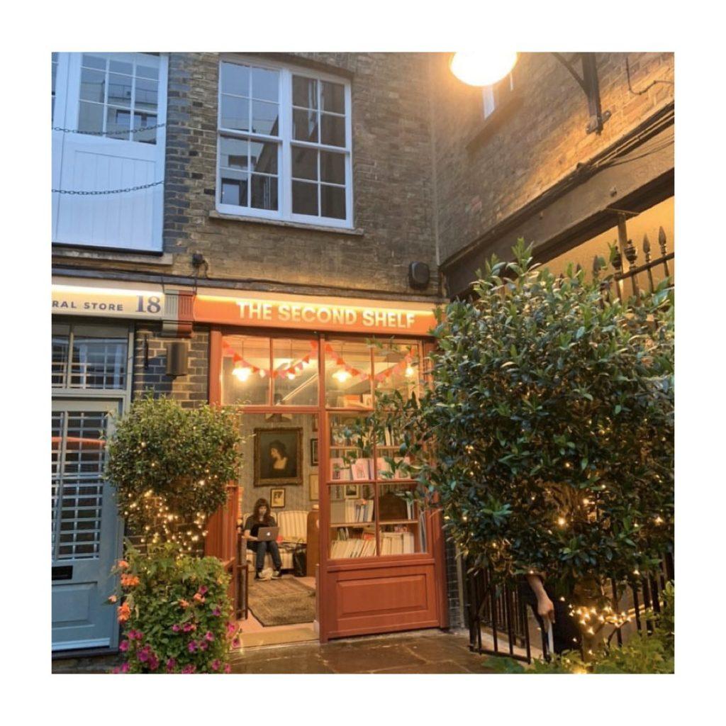 The Second Shelf independent bookshop London