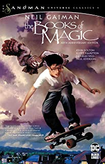 the books of magic cover - alternatives to harry potter