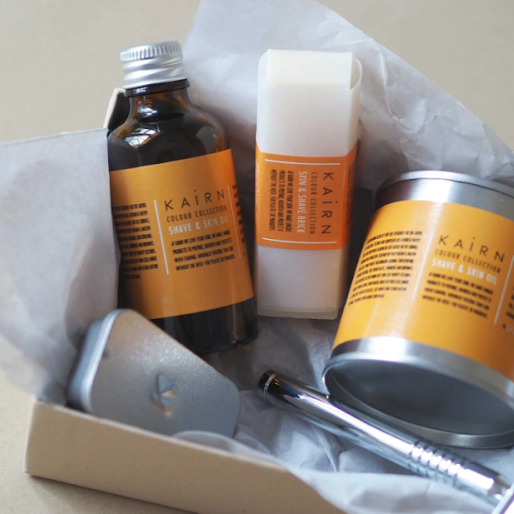skincare and shaving gift set for eco-friendly gift ideas