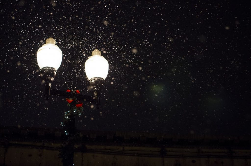street light in the snow - rock covers of classic christmas songs
