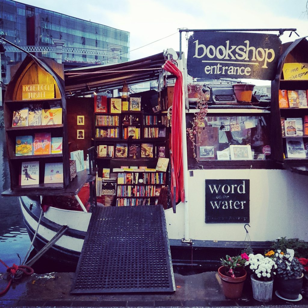 word on the water independent bookshop london