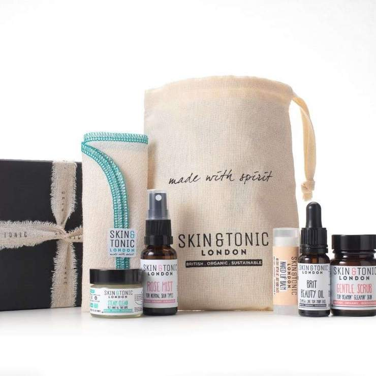 eco-friendly skincare set for self-care valentine's day gifts